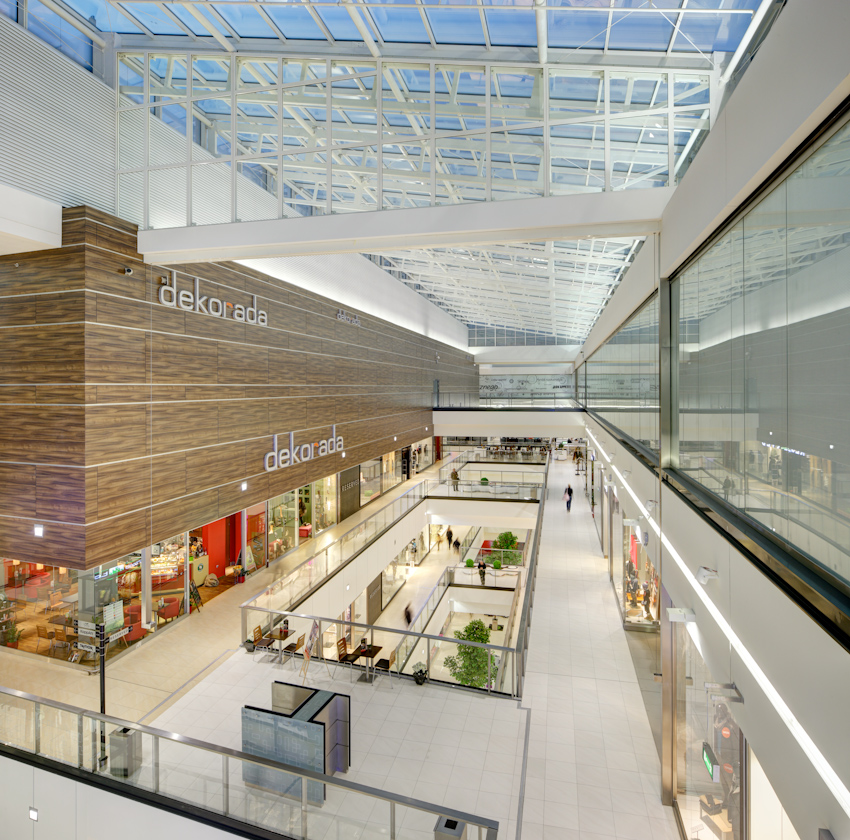 "Galeria: Shopping Mall ""Galeria Echo"", Interior Design, Kielce"