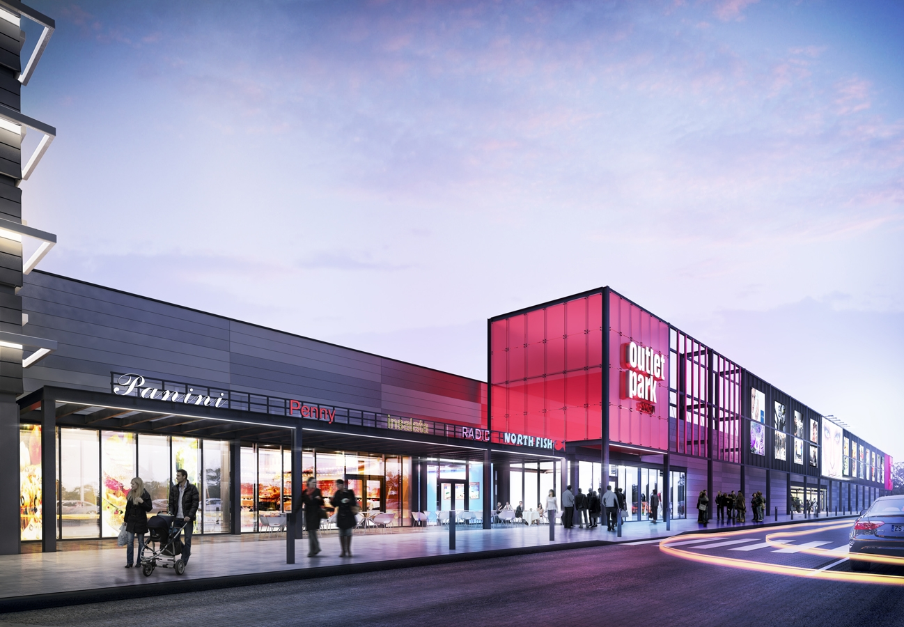 Outlet Mall Szczecin Open Architekci