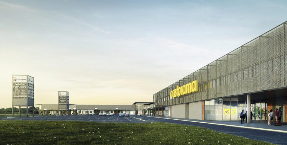 """Centrum Handlowe """"Cegielnia"""", Łubna, gmina Góra Kalwaria"""