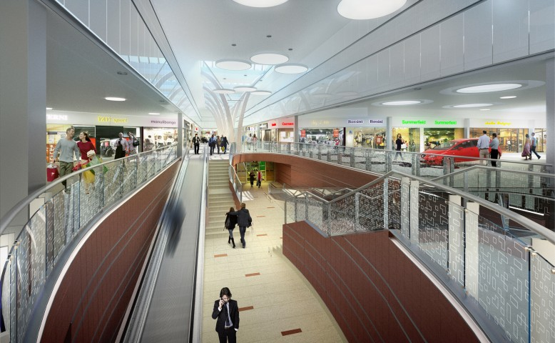 "Shopping Center ""Galeria Echo"", refurbishment, Kielce"