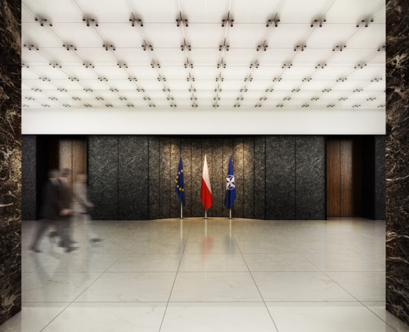 Ministry of Foreign Affairs - 1st prize in the competition
