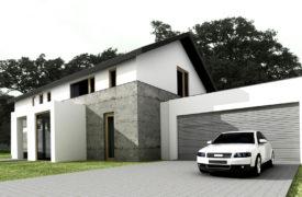 Dom jednorodzinny, Nadarzyn 1