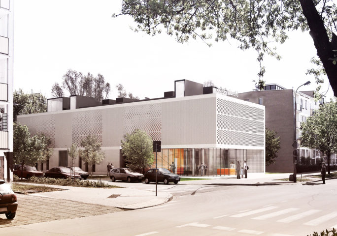 Community Center, Warsaw Bielany