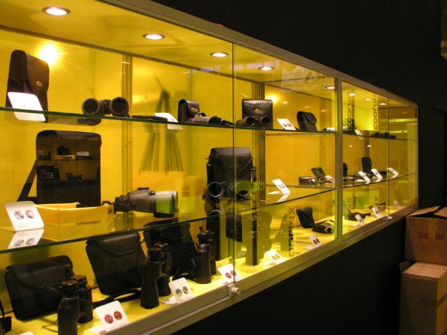 Nikon market stand, Łódź