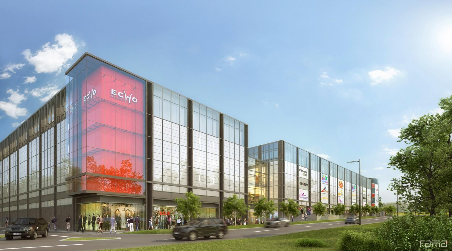"Shopping Center ""Galeria Echo"", Kielce | Open Architekci"