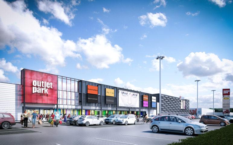 Outlet mall, Szczecin