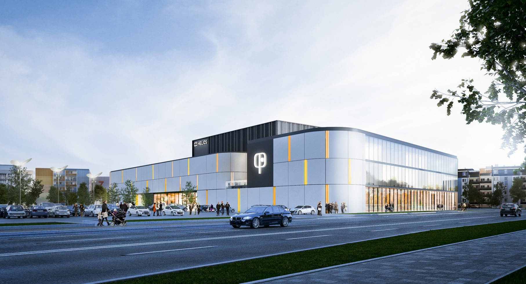 Houses Design Shopping Center In Bydgoszcz Open Architekci